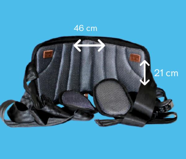 mesures ceinture de maintien dorsale zen back