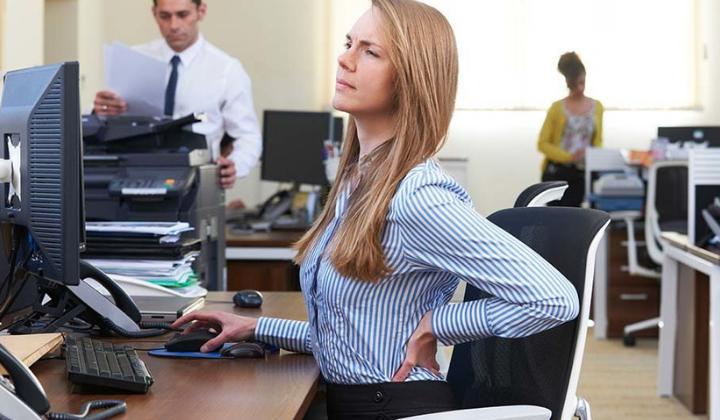 lutter contre le mal de dos au bureau