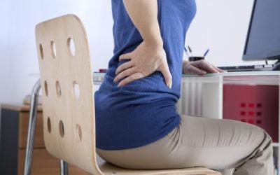 Lombalgie en position assise: comment la soulager ?